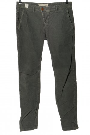Drykorn for beautiful people Pantalón de pana gris claro look casual