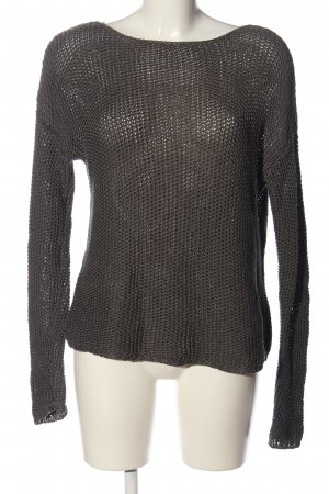 Drykorn for beautiful people Pullover all'uncinetto marrone stile casual
