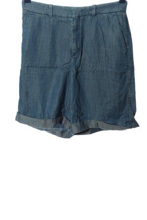 Drykorn for beautiful people Pantaloncino a vita alta blu puntinato stile casual