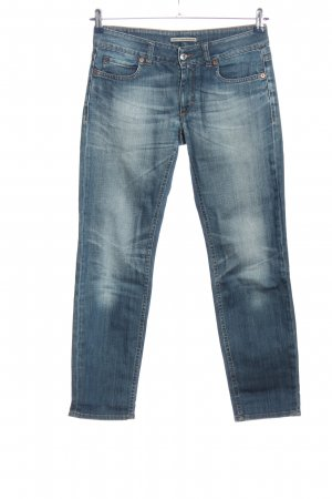 Drykorn for beautiful people Low Rise jeans blauw casual uitstraling