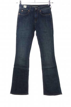 Drykorn for beautiful people Spijker flares blauw casual uitstraling