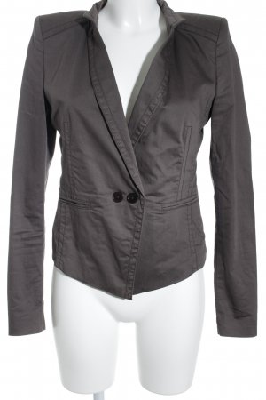 Drykorn Long-Blazer dunkelgrau Casual-Look