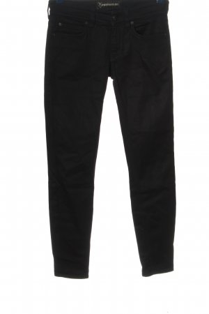 Drykorn for beautiful people Pantalone a sigaretta nero stile casual