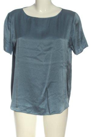 Drykorn for beautiful people Blusa in seta blu stile casual