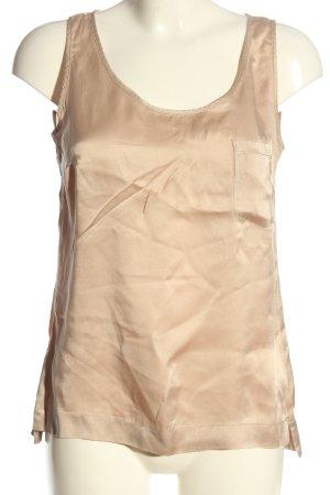 Drykorn for beautiful people Top in seta crema stile casual