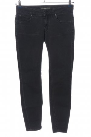 Drykorn for beautiful people Slim jeans zwart casual uitstraling