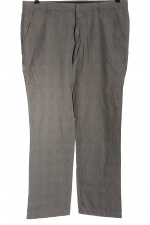 Drykorn for beautiful people Stoffhose hellgrau Allover-Druck Business-Look