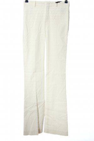 Drykorn for beautiful people Stoffhose weiß grafisches Muster Casual-Look