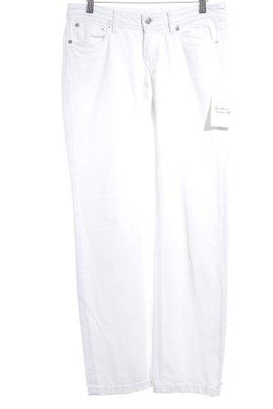 Drykorn Jeansy z prostymi nogawkami w kolorze białej wełny