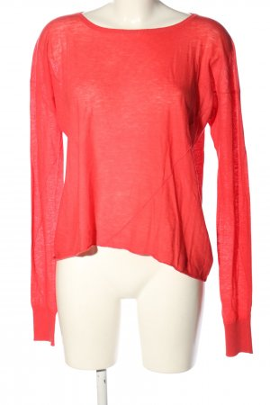 Drykorn for beautiful people Strickpullover rot Casual-Look