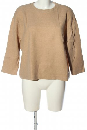 Drykorn for beautiful people Strickpullover nude meliert Casual-Look