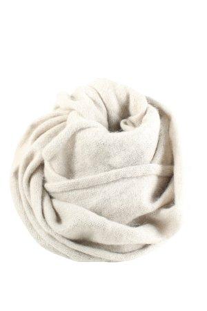 Drykorn for beautiful people Écharpe en tricot blanc cassé torsades