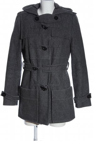 Drykorn for beautiful people Duffel Coat light grey flecked casual look