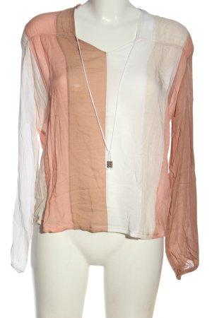 Drykorn for beautiful people V-Ausschnitt-Shirt Streifenmuster Elegant