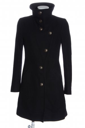 Drykorn for beautiful people Cappotto in lana nero stile casual