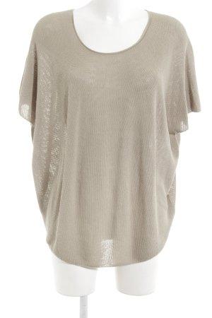 Drykorn Gehaakt shirt groen-grijs casual uitstraling