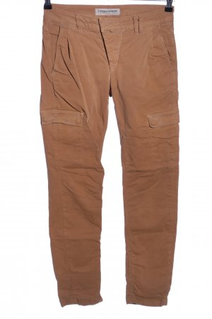 Drykorn High-Waist Hose braun Casual-Look