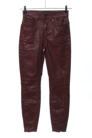 Drykorn High-Waist Hose rot Casual-Look