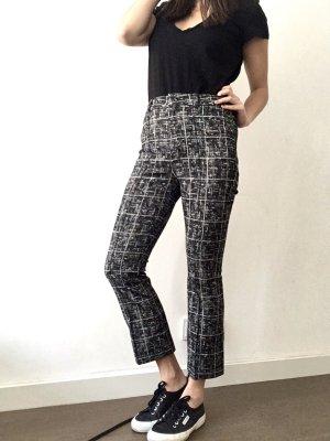 Drykorn Pantalone a 7/8 grigio-bianco