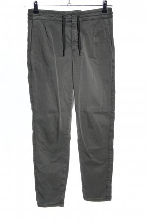 Drykorn pantalón de cintura baja gris claro look casual