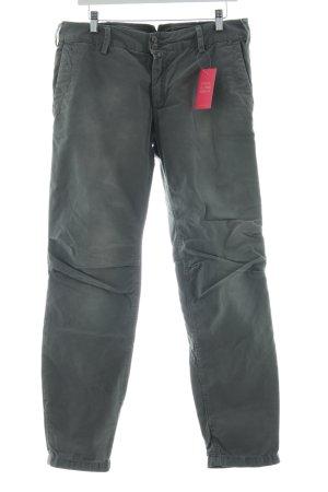 Drykorn Pantalone a vita bassa grigio chiaro stile casual