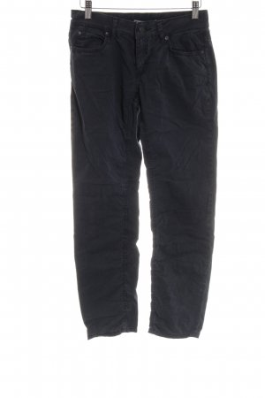 Drykorn Low-Rise Trousers black casual look