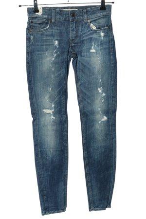 Drykorn Hüftjeans blau Casual-Look