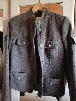 Drykorn Jacke Blouson Model Blauer  Military Army Style wie Neu wolle
