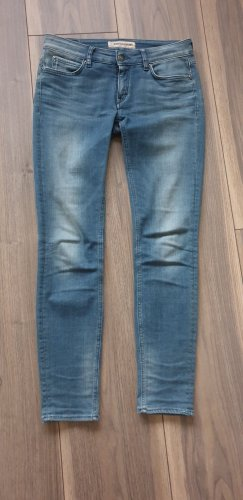 Drykorn for beautiful people Straight Leg Jeans steel blue cotton