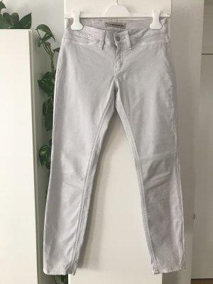 Drykorn Jeans a 7/8 grigio chiaro Tessuto misto