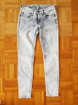 Drykorn Jeans W26 L32 hellgrau schwarz