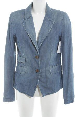 Drykorn Jeansjacke stahlblau Jeans-Optik
