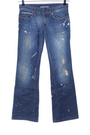 Drykorn Jeansschlaghose blau Casual-Look