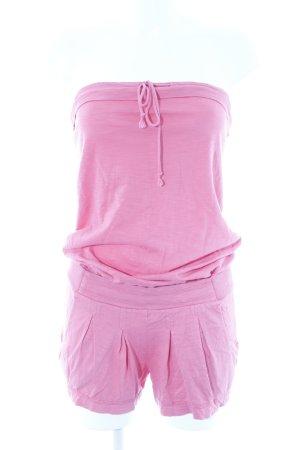 Drykorn Jumpsuit hellrot Stofflagen-Detail