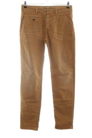Drykorn Pantalón de pinza alto marrón look casual