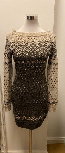 Drykorn Woolen Dress brown-oatmeal