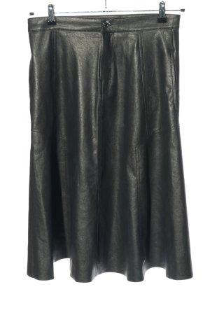Drykorn Kunstlederrock schwarz Casual-Look