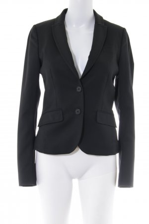 Drykorn Kurz-Blazer schwarz Business-Look