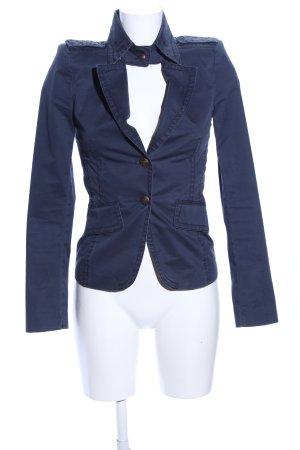 Drykorn Kurz-Blazer blau Business-Look