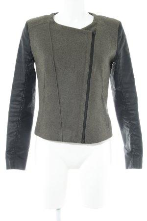 Drykorn Kurzjacke graubraun-schwarz Casual-Look