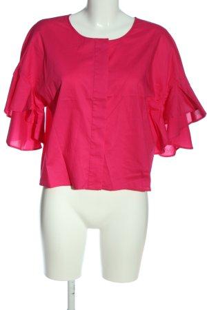 Drykorn Langarm-Bluse pink Casual-Look
