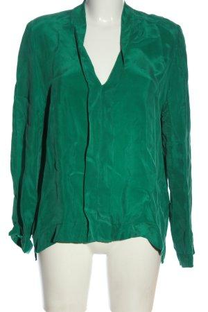 Drykorn Bluzka z długim rękawem zielony W stylu biznesowym
