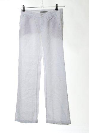 Drykorn Pantalón de lino blanco look casual