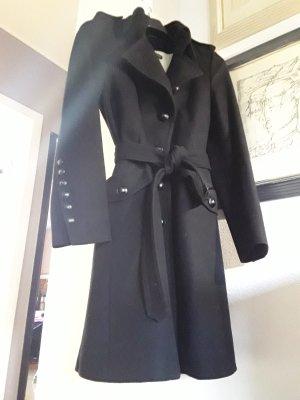 Drykorn Abrigo de lana negro Lana