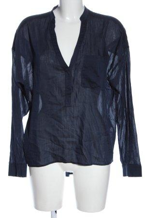 Drykorn Oversized Bluse blau Casual-Look