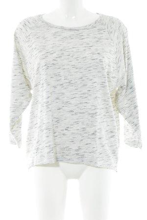 Drykorn Oversized Shirt hellgrau-wollweiß meliert Casual-Look