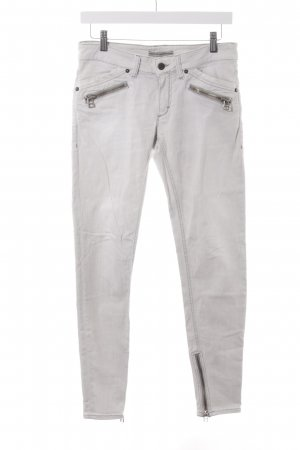 Drykorn Pantalone a sigaretta blu pallido-grigio chiaro stile casual