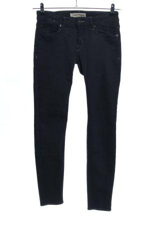 Drykorn Pantalone a sigaretta blu stile casual