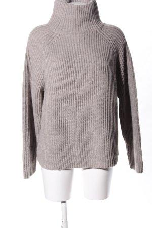 Drykorn Maglione dolcevita grigio chiaro stile casual