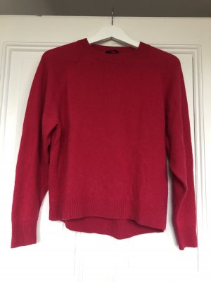 Drykorn roter Wollpullover